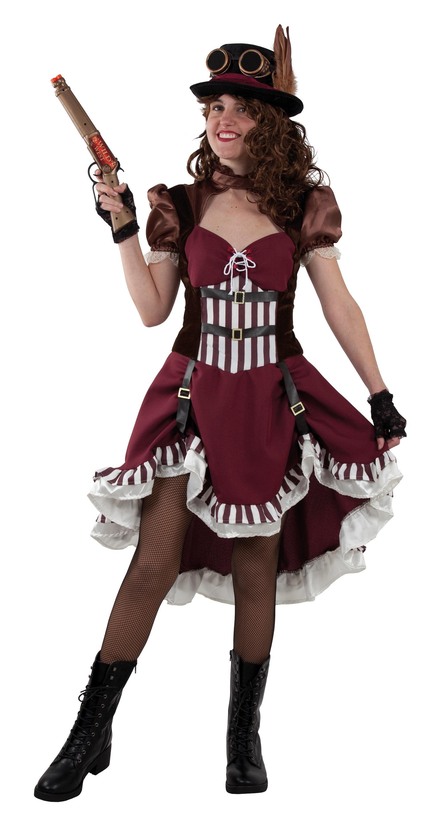 moda femenina steampunk mujer
