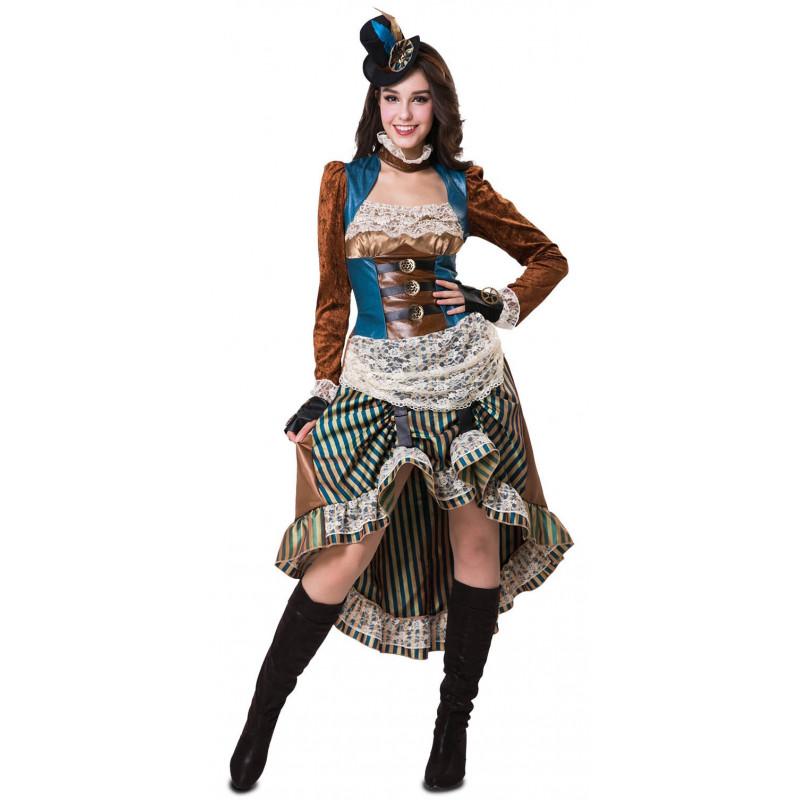 disfraz steampunk para damas