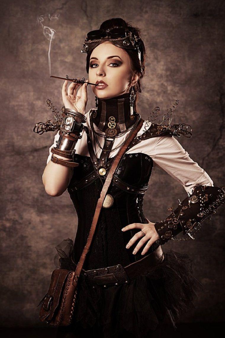 estilo femenino steampunk mujer