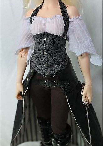ropa de mujer steampunker