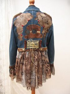 chaqueta steampunk ropa mujer