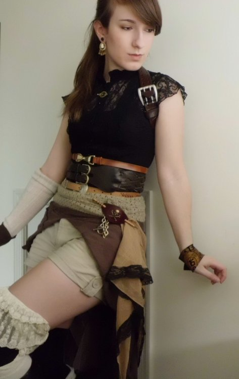 ropa femenina steampunk
