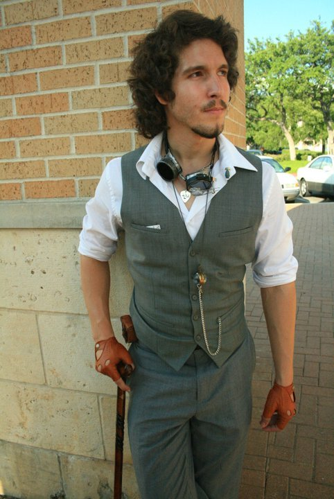 ropa hombre steampunk style