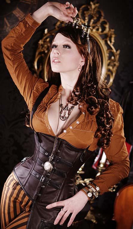 ropa femenina steampunk style