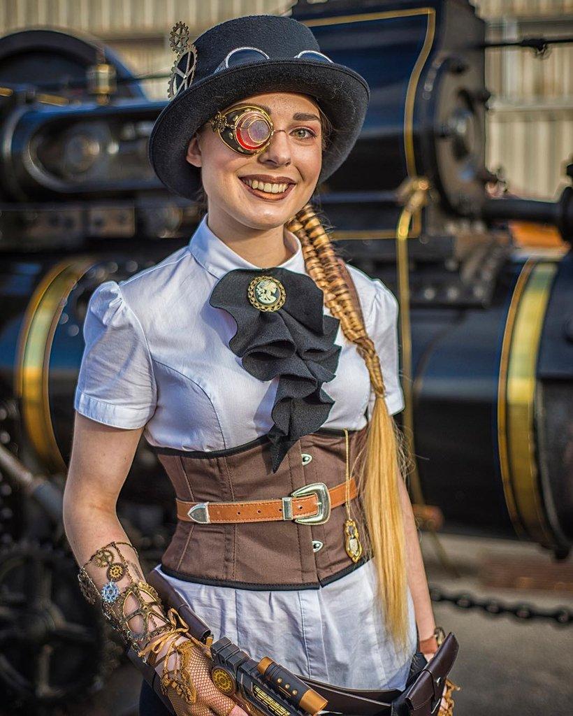 steampunk style atuendo original