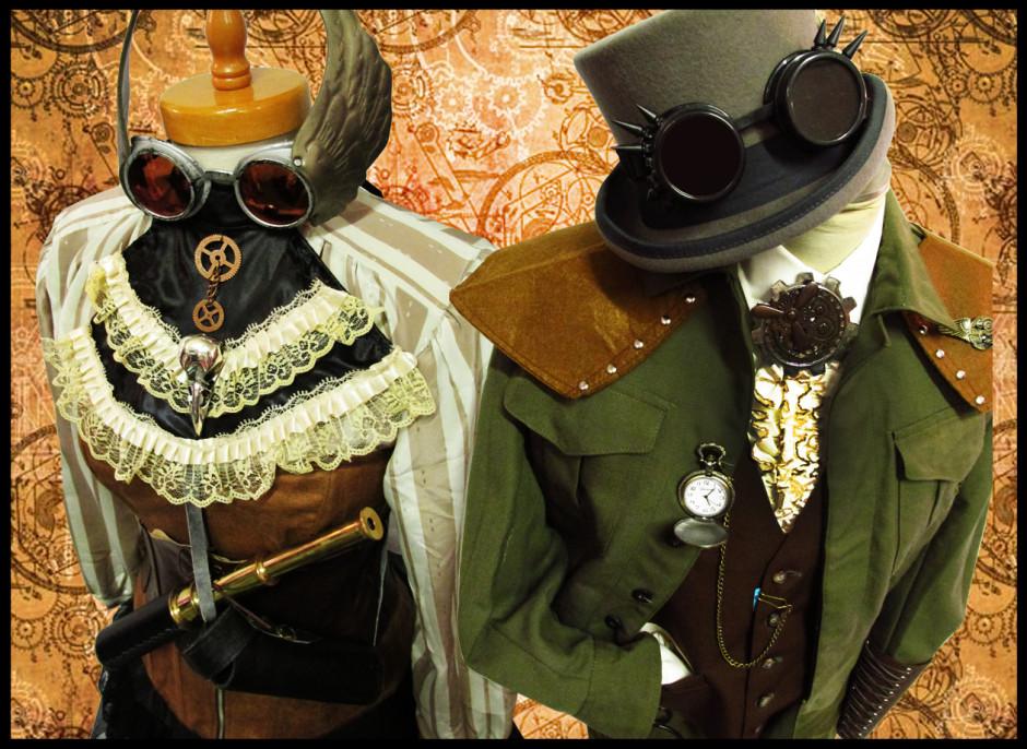 atuendos steampunk style