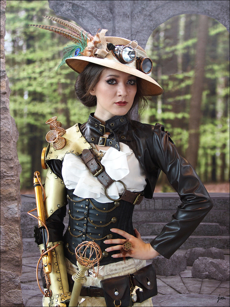 steampunk style mujer