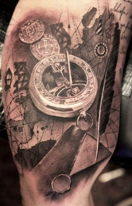 steampunk tattoo tendencia