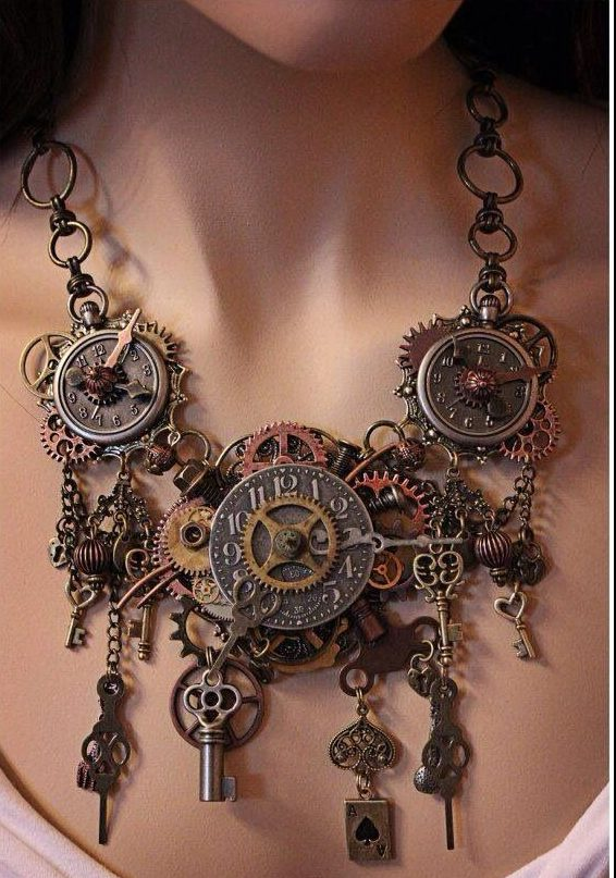 collares steampunk