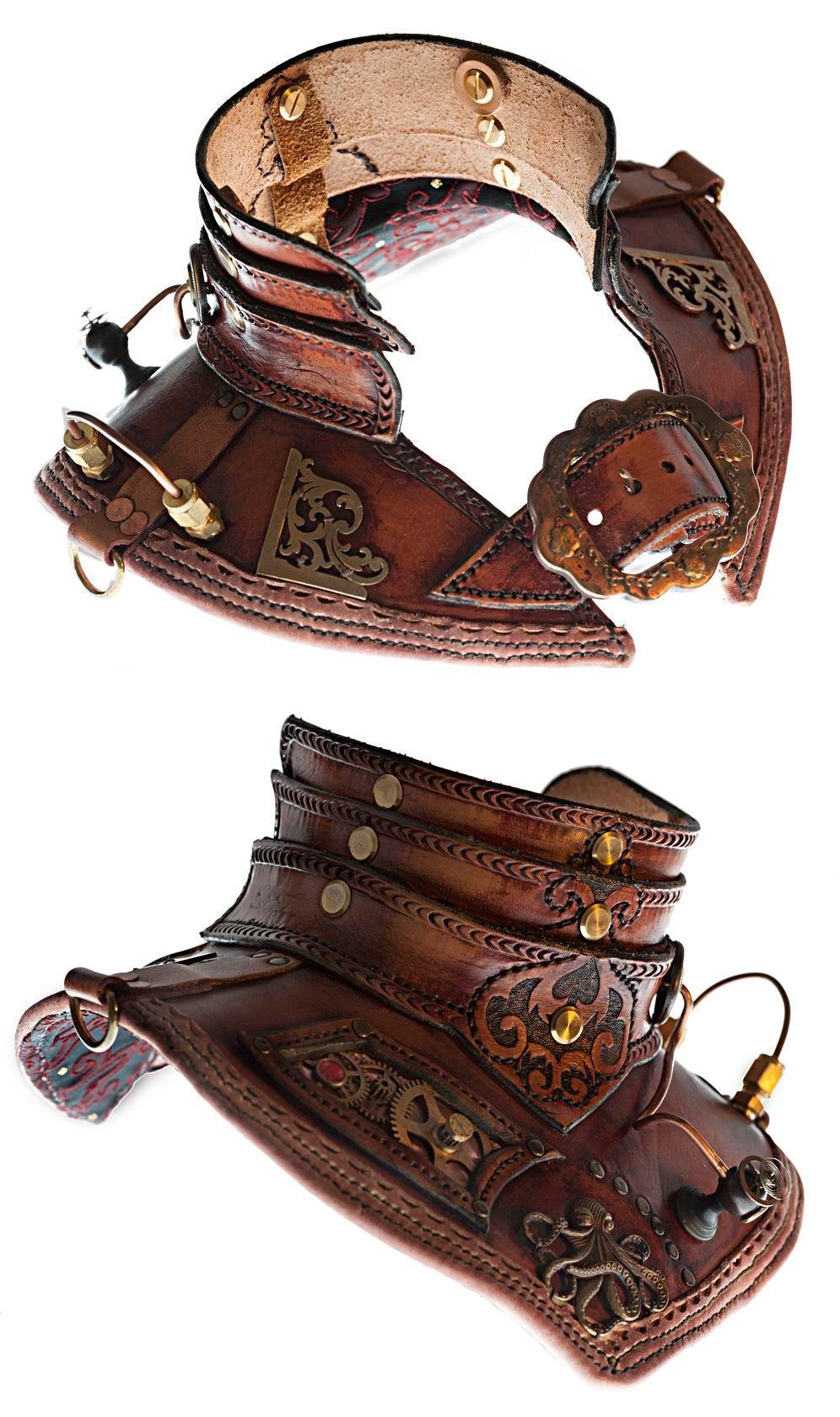 accesorio para cuello steampunk