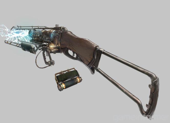 armas steampunk escopeta