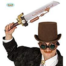 espada con diseño steampunk comprar amazon