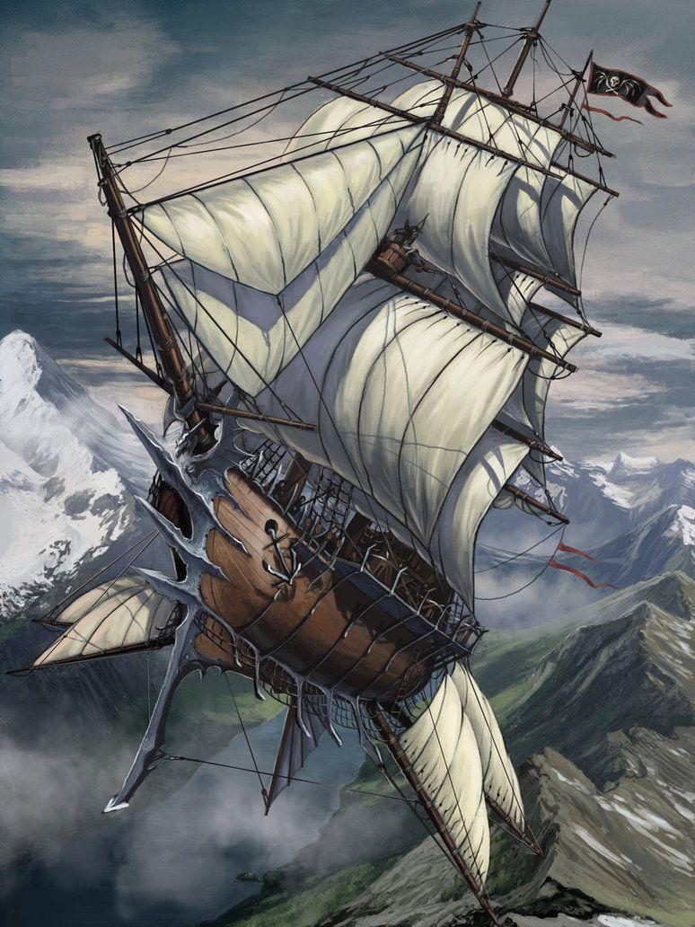 barco steampunk temática