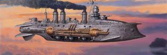 Barco steampunk