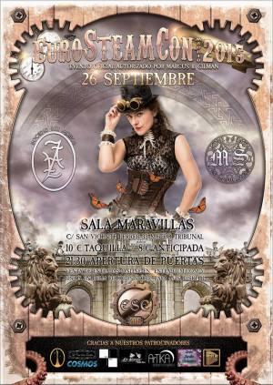 póster oficial eurosteamcon 2015