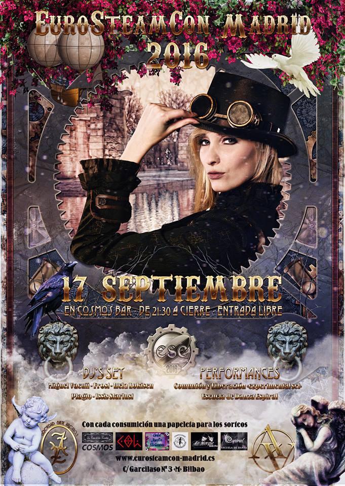 póster oficial eurosteamcon 2016