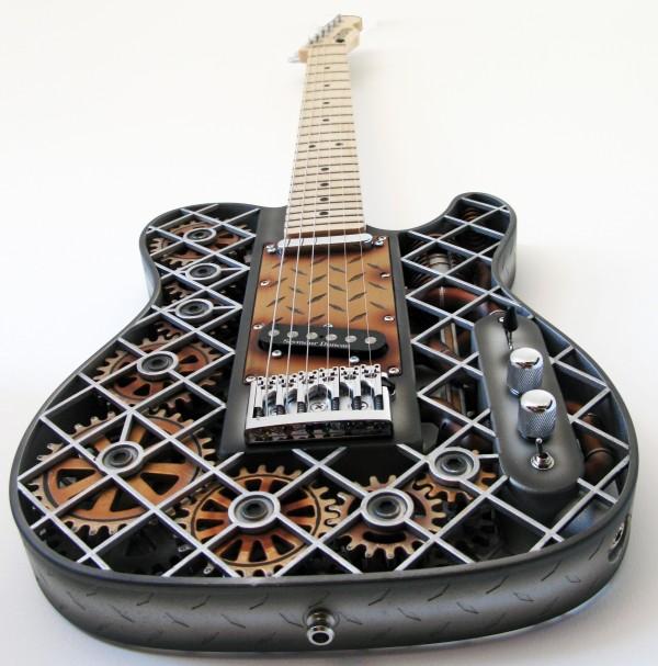modelo guitarra steampunk