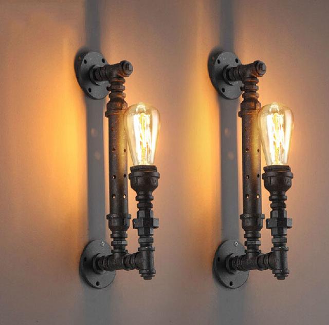 lámpara steampunk vintage
