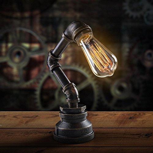 lámpara sencilla con estilo steampunk