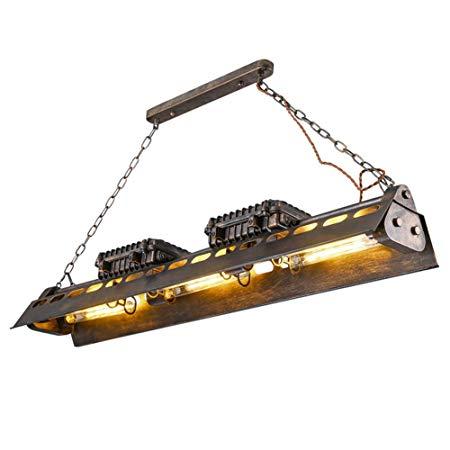 comprar amazon lámpara de techo steampunk