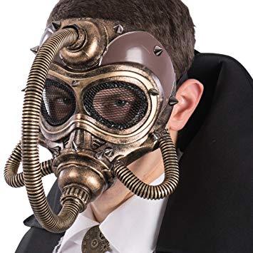 comprar en amazon máscara steampunk hombre