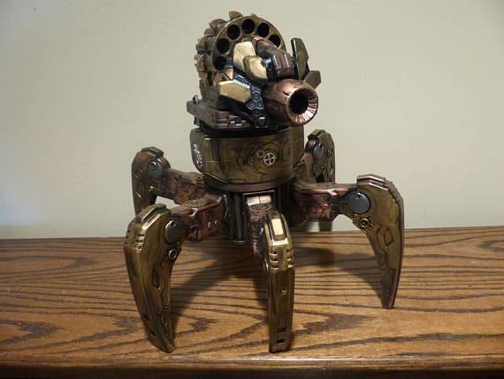 robot steampunk niños