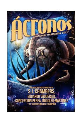 libro ácronos antología steampunk vol 2