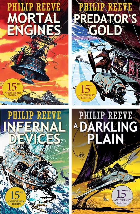 libros steampunk escritos por philip reeve