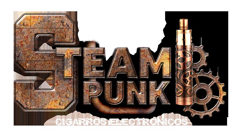 steampunk logo teslacig