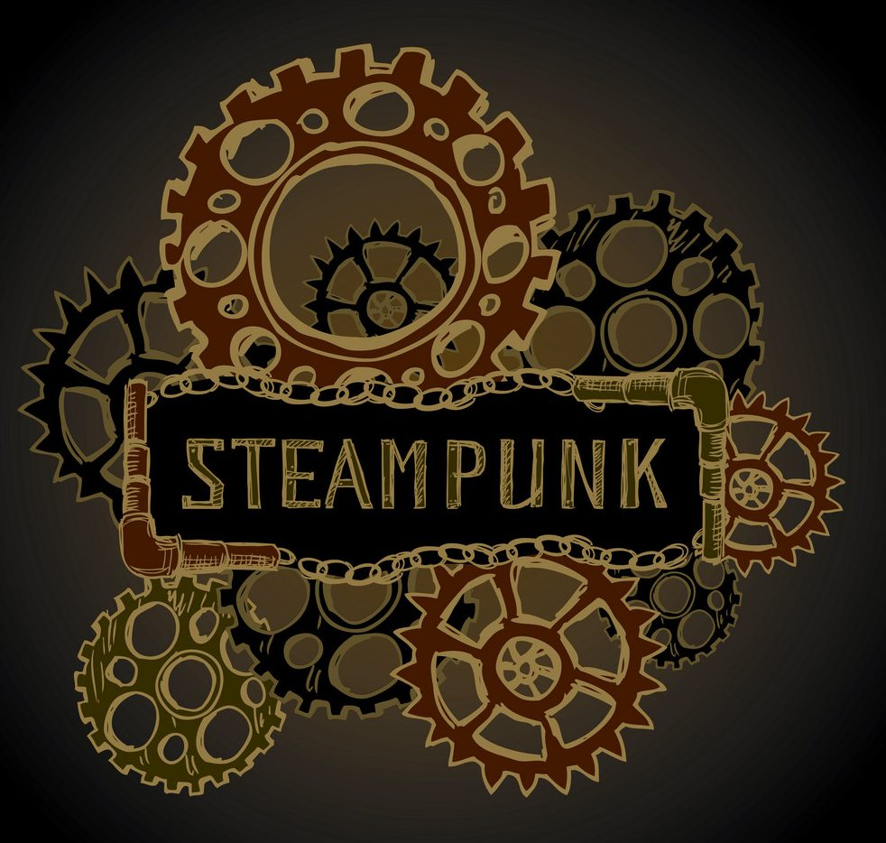 logo steampunk original