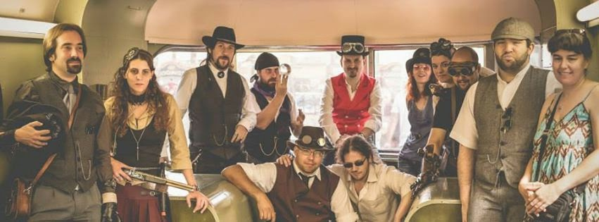 steampunk madrid asistentes al evento