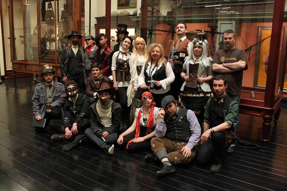 steampunk madrid visita a museo