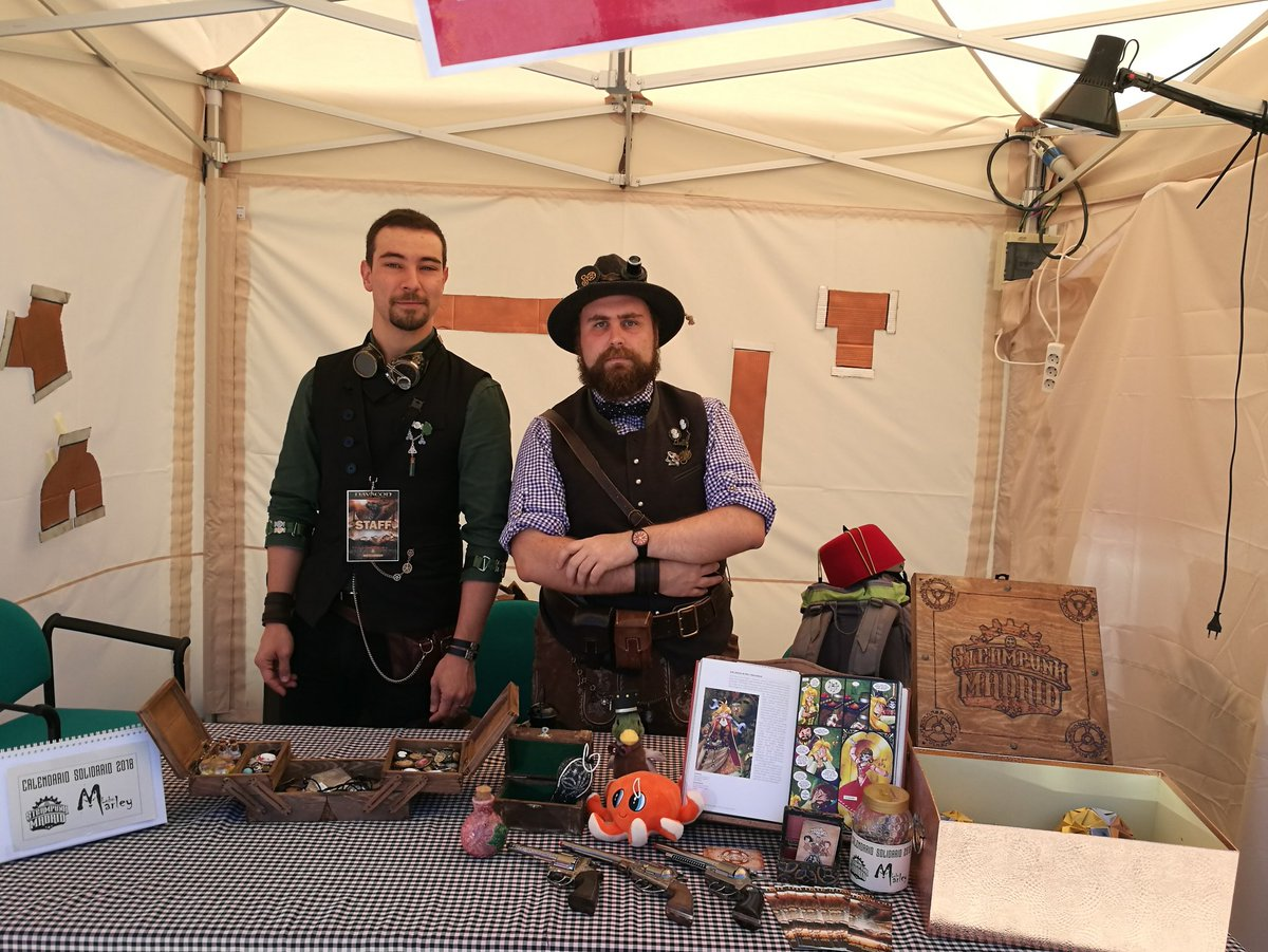 steampunk madrid stand