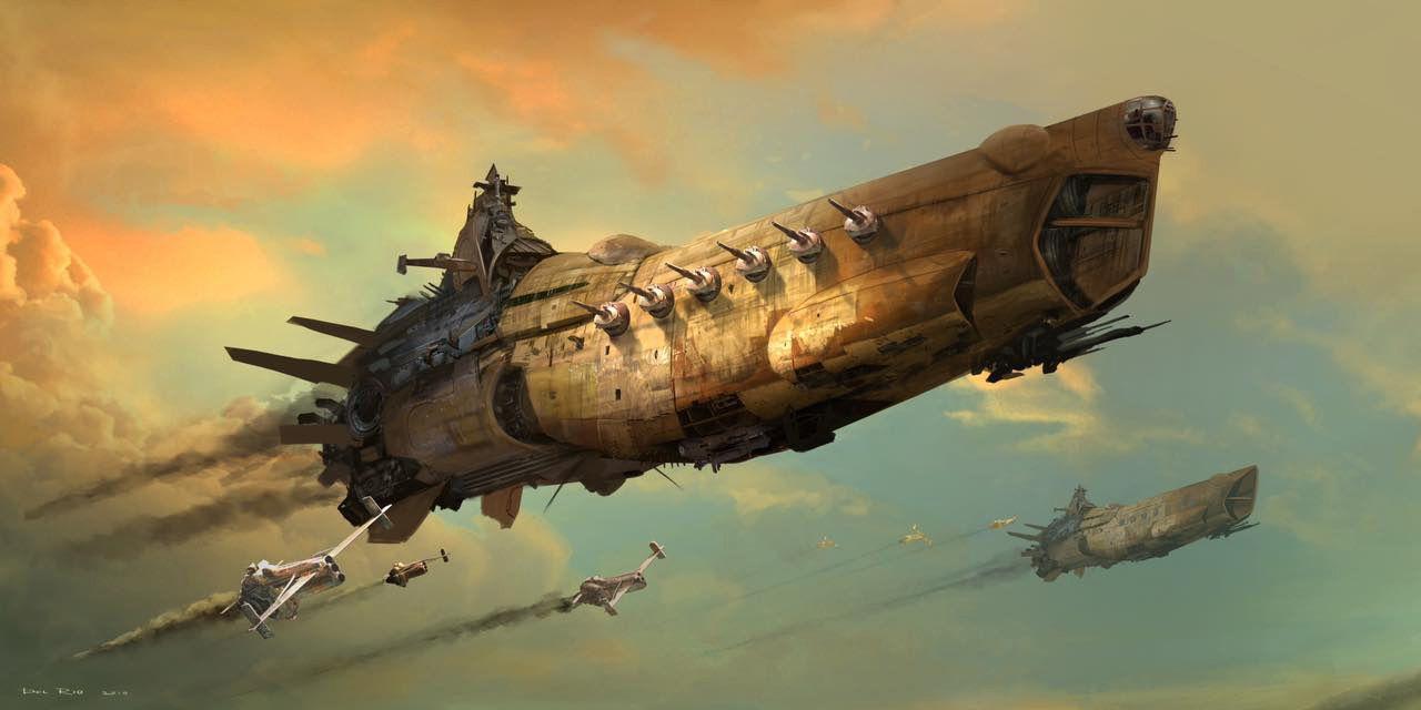spaceship steampunker