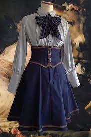 vestido steampunk para disfraz