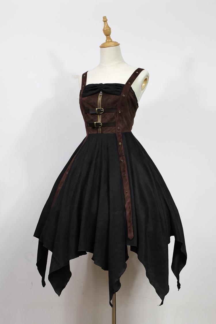 vestido steampunk dama