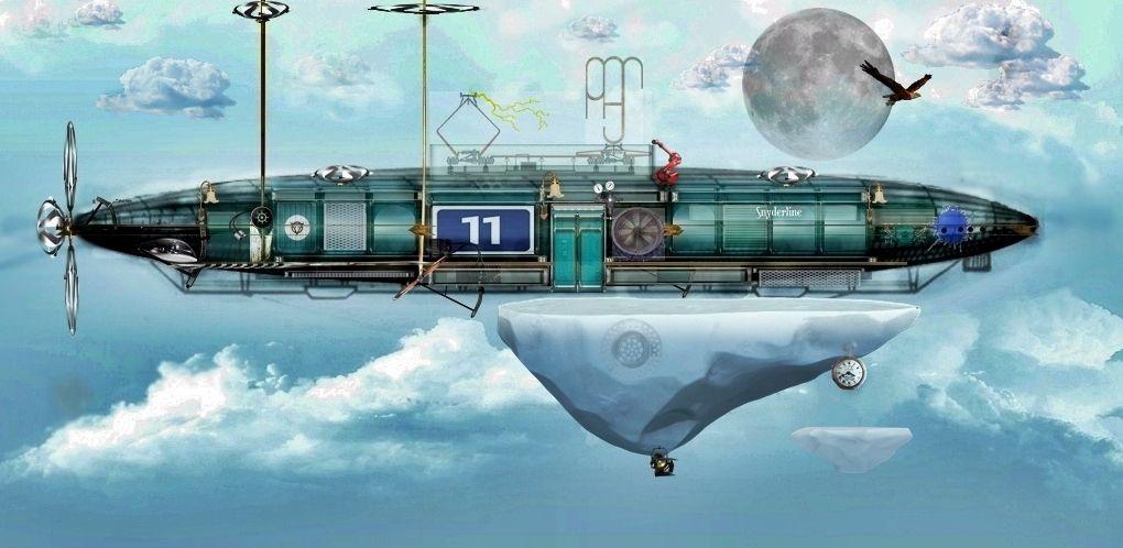 zeppelin steampunk universo